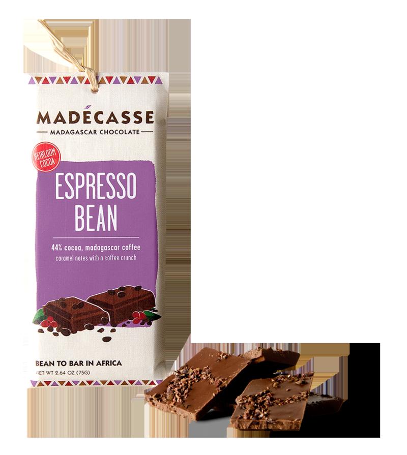 Madecasse Chocolate, espresso bean