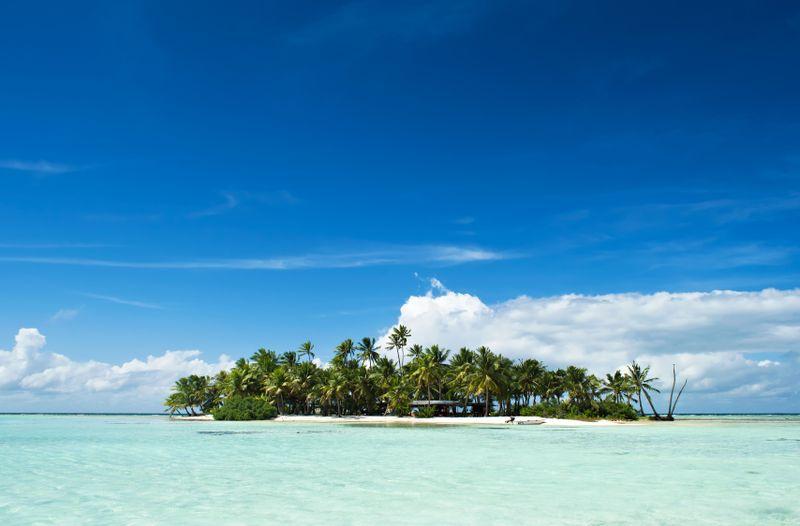 Sustainably uninhabited island