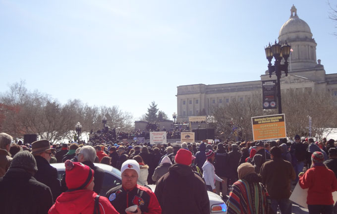 March-on-Frankfort