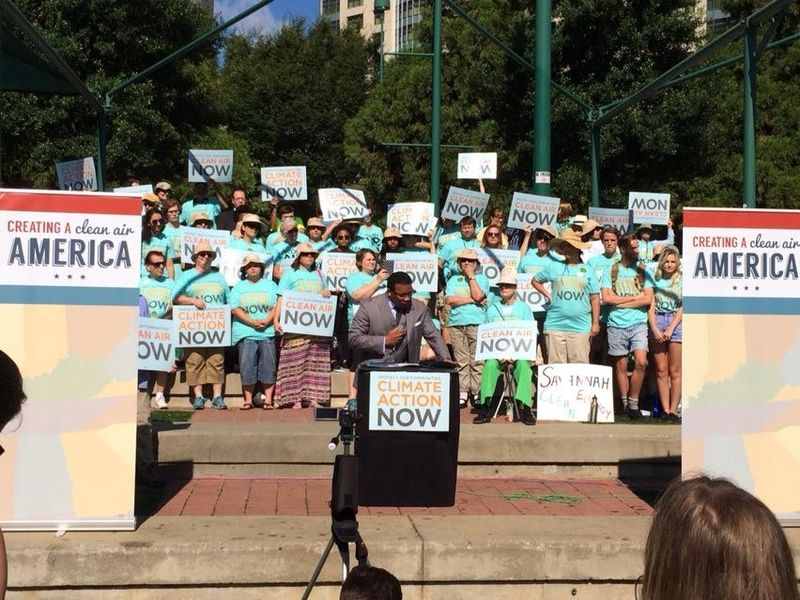 Atlanta EPA rally