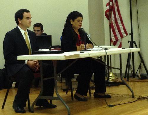 Leslie Fields testifies in Houston