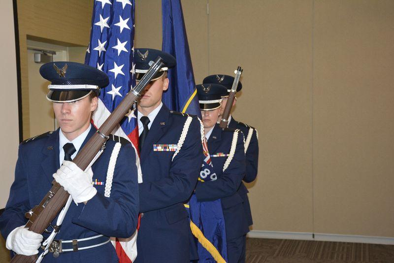 AF ROTC Flag Ceremony