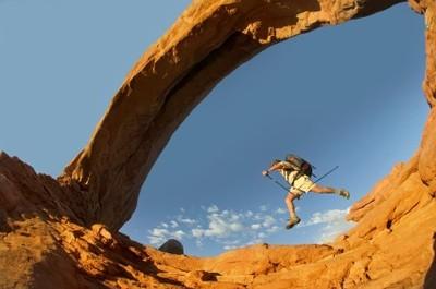 Backpackerjumping