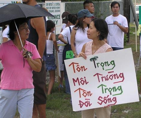 Vietnameselandfillprotest