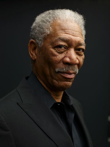 But Oscar-winner Morgan Freeman is a man who acts