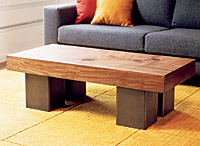 Urban Hardwoods coffee table
